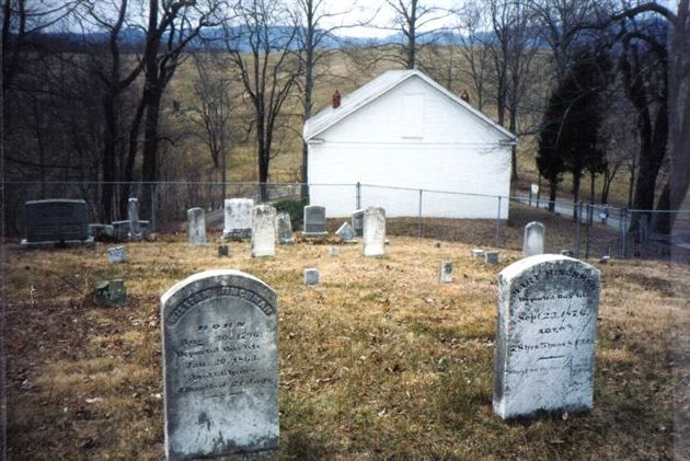 Riverview Church Cemetery, Monroe County, WV