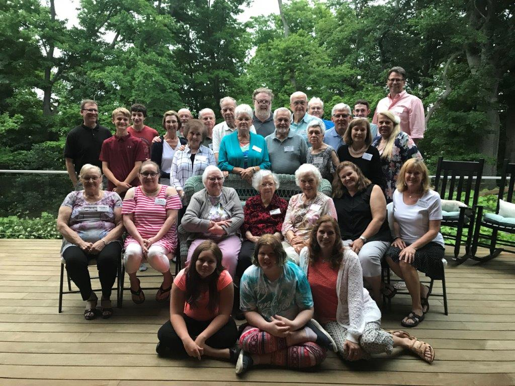 2018 Hinchman Heritage Society, Troy, Ohio 25th Reunion, Special member Esther Hinchman celebrated 103 1/2 year birthday