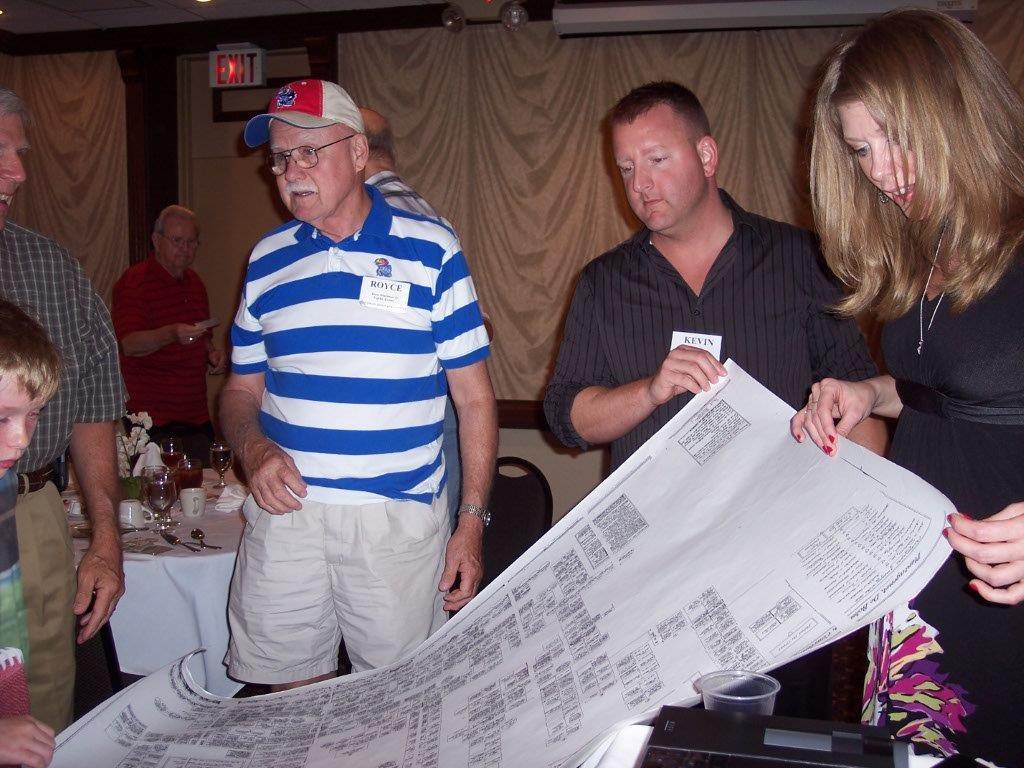 2012, 6-16 - Royce, Kevin, Elise - Henchman family tree