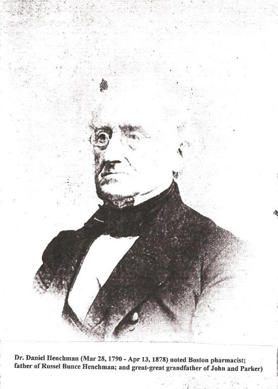 Henchman 1790-1878 Dr. Daniel