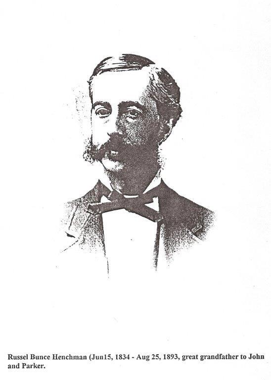 Henchman 1834-1893 Russel Bunce
