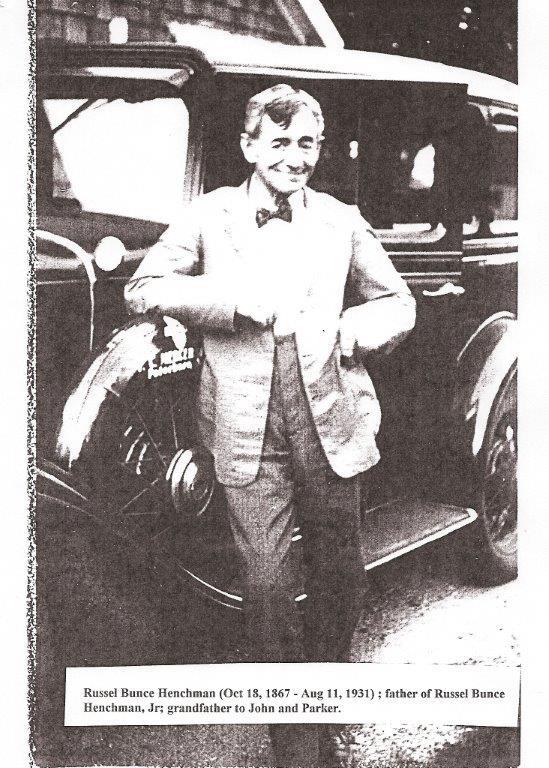 Henchman 1867-1931 Russell Bunce