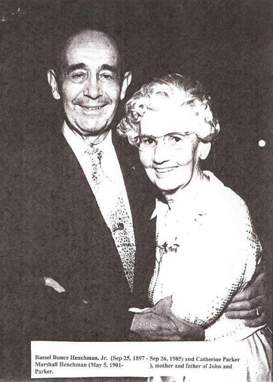 Henchman 1897-1985 Russel Bunce & Catherine P.Marshall Henchman