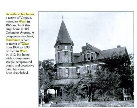 Home of Acanthus Hinchman, submitted by Paul Hinchman