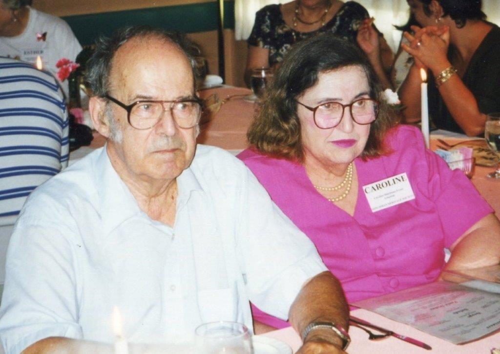 Bob Evans 1920-2010 and Caroline Hinchman Evans 1927-2014